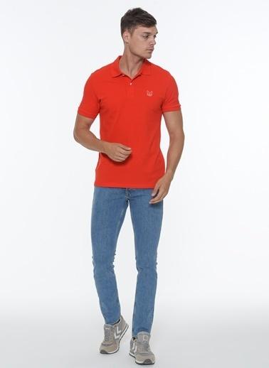 Jack & Jones Jack&Jones Erkek Polo Yaka Tişört 12171670 Kırmızı